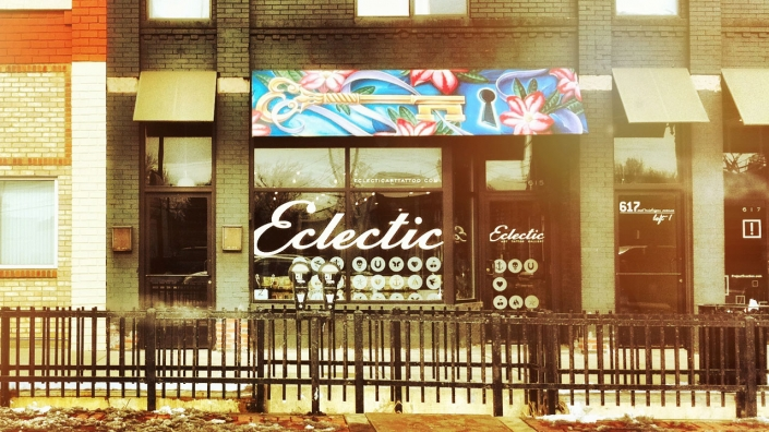 Eclectic Art & Tattoo Gallery Exterior